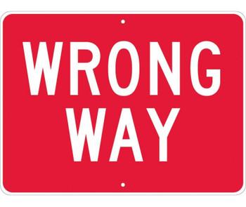 Wrong Way 24X18 .080 Hip Ref Alum