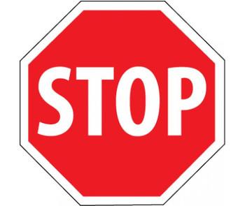 Stop (Octagon) 24X24 .080 Egp Reflective