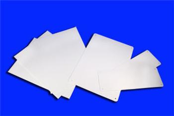 Blank White 7 X10 3 Rigid Plastic