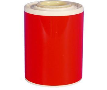 "Hd Vinyl Tape 4"" X 82' Red"