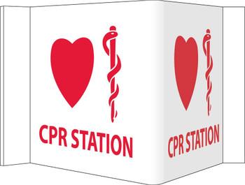 Visi Cpr Station 8X14.5 Rigid Vinyl