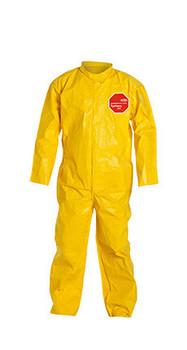 DuPont Tychem® 2000 Yellow Coverall - QC120B YL
