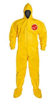 DuPont Tychem® 2000 Yellow Coverall - QC122B YL BN