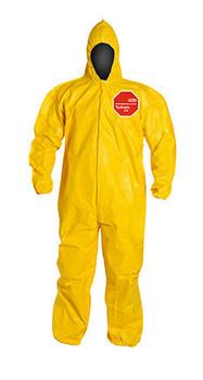 DuPont Tychem® 2000 Yellow Coverall - QC127B YL