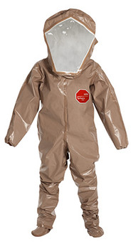 DuPont Tychem® 5000 Tan Coverall - C3528T TN BOOT