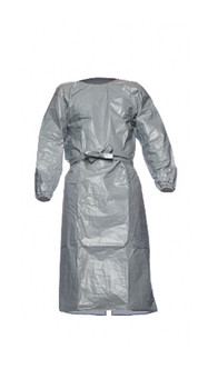 DuPont Tychem® 6000 Gray Gown - TYFPL5 0S