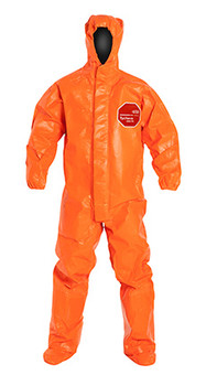 DuPont Tychem® 6000 FR Orange Coverall - TP199T OR BOOT