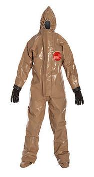 DuPont Tychem® Responder® CSM Tan Coverall - RC128T TN BOOT
