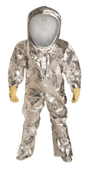 DuPont Tychem® 10000 FR Silver Coverall - RF600T SV 7N