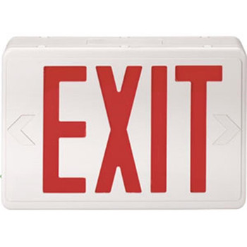 Red LED Exit Sign (AC only) - 104