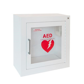 Life Start™ Series AED Surface Mount Wall Cabinet w/Siren - 1413F12