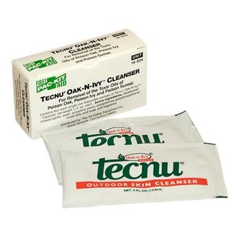 Tecnu® Oak-N-Ivy™ Outdoor Skin Cleanser, 4/Box - 18024