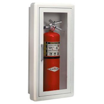 """Ambassador Series Steel Cabinet w/ Lock, Semi-Recessed (1 1/2""""), 24""""H x 10 1/2""""W x 5 1/2""""D - 1816G10"""