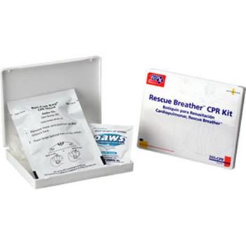 4-Piece Mini Personal CPR Kit, Plastic Case - 205CPRFAO