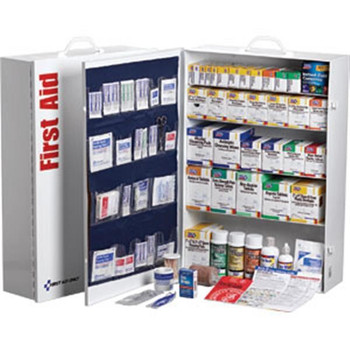 5-Shelf, 200-Person, 1718-Piece First Aid Station w/ 22-Pocket Liner - 249OP