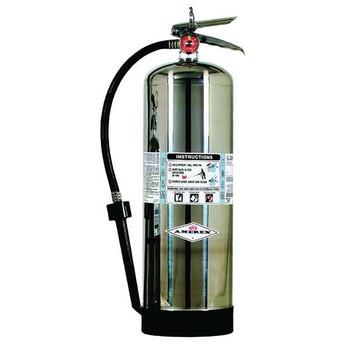Amerex® 2.5 gal AFFF Foam Extinguisher w/ Brass Valve & Wall Hook - 50