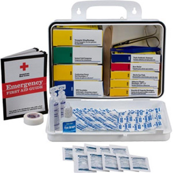 16-Unit, 113-Piece Welder's First Aid Kit (Plastic) - 253UFAO