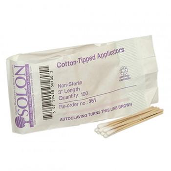 """Cotton Tipped Applicators, 3"""", 100/Pkg - 25400"""