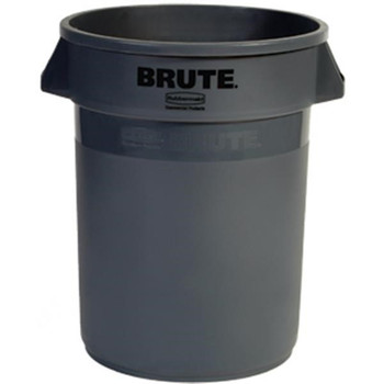 Brute® Utility Waste Container, 32 gal (Gray) - 2632