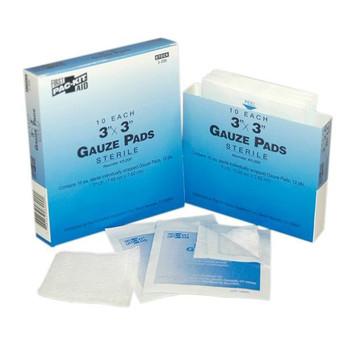 "Gauze Pads, 3"" x 3"" (10/Box) - 3200"
