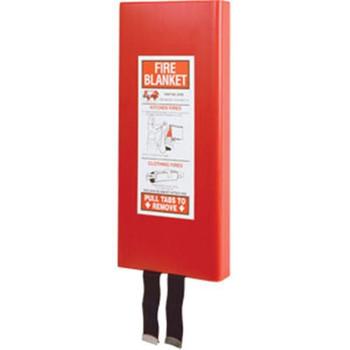 Fiberglass Fire Blanket w/ Case - 650203