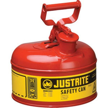 Type I Safety Can, 1 gal, Red - 7110100