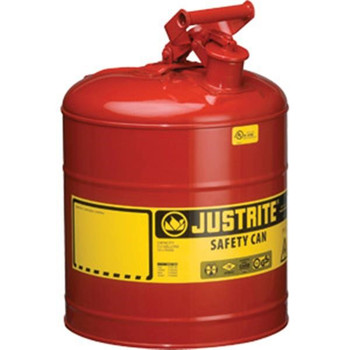 Type I Safety Can, 5 gal, Red - 7150100