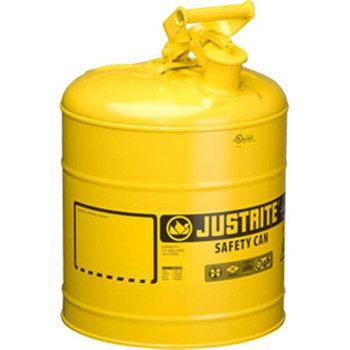 Type I Safety Can, 5 gal, Yellow - 7150200