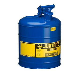 Type I Safety Can, 5 gal, Blue - 7150300