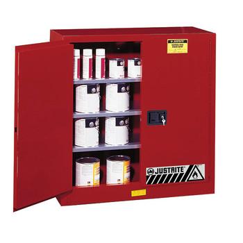 Sure-Grip EX Class III Paint Storage Cabinet, 40 gal, Self-Closing Doors, Uniform Fire Code - 893031