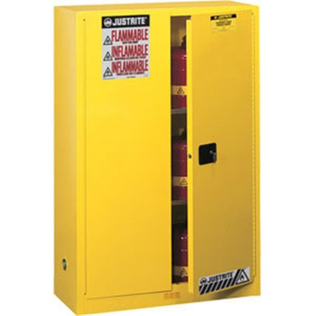 """Sure-Grip® EX Safety Cabinet w/ Manual Doors, 45 gal, 65""""H x 43""""W x 18""""D - 894500"""