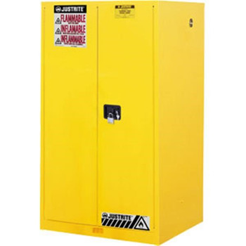"""Sure-Grip® EX Safety Cabinet w/ Manual Doors, 60 gal, 65""""H x 34""""W x 34""""D - 896000"""