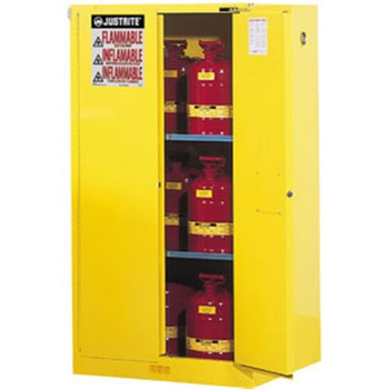 """Sure-Grip EX Safety Cabinets w/ Self-Closing Doors, 90 gal, 65""""H x 43""""W x 34""""D - 899020"""