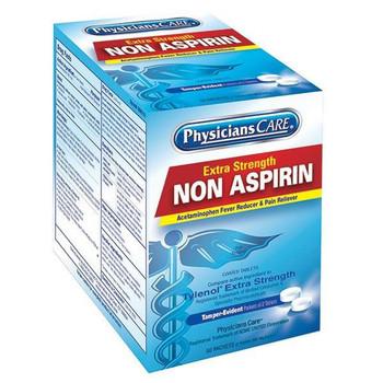 Non-Aspirin Acetaminophen Pain Reliever, 2 Pkg/50 ea (Replaces H418F) - 90016