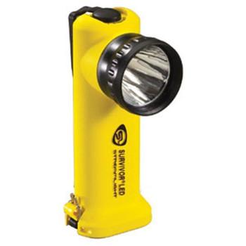 Survivor® LED Flashlight, AC/DC w/ Steady Charger, Yellow - 90513