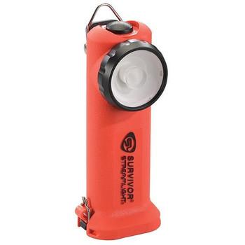 Survivor® LED Class 1, Division 1 Flashlight (Alkaline Model), Non-Rechargeable, Orange - 90540