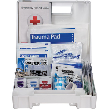 25-Person, 89-Pc ANSI A First Aid Kit, Plastic - 90588