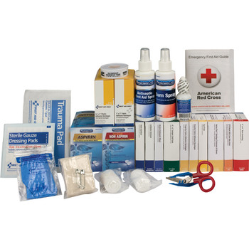 2-Shelf, 335-Pc ANSI A+ First Aid Station Refill (For 90572AC) - 90612