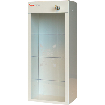 "Economy Metal Extinguisher Cabinet, 19 13/16""H x 8 1/2""W x 6 1/4""D - 916FT"