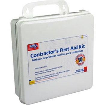 50-Person, 237-Piece Contractor First Aid Kit (Plastic) - 930350P