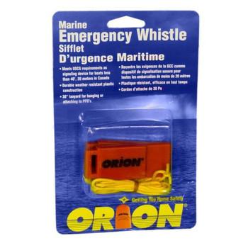 Orion® Safety Marine Emergency Whistle w/ Lanyard - 976