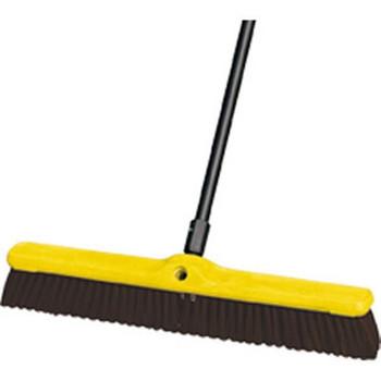 "Heavy-Duty Floor Sweep, Polypropylene & Polystyrene Fill (24"") - 9B1700MA"