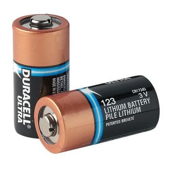 Duracell® Ultra CR123A Lithium Batteries (10/Pkg) - 8000-0807-01