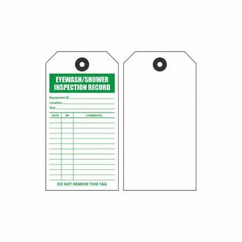 Emergency Shower/Eyewash Tags - EWTAG