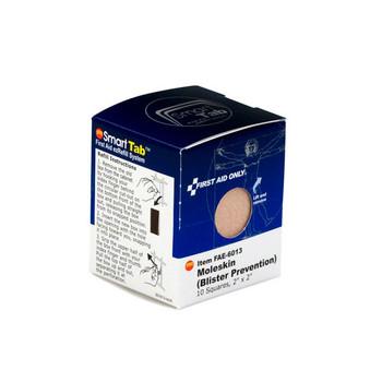 "Moleskin Blister Protection, 2"", 10/Box - FAE6013"