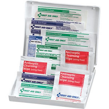 17-Piece Travel First Aid Kit (Plastic Case) - FAO106