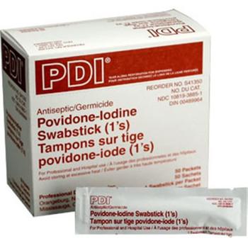 Povidone Iodine Swab Sticks (50/Box) - M318
