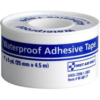 "Waterproof First Aid Tape, 1"" x 5 yd - M687P"