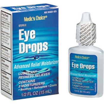 Welder's Arc Eye Drops, .5 oz - M702