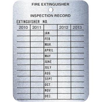 4-Year Metal Inspection Tag - MYTAGBR